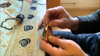 Заточка лезвий для бритья часть 2