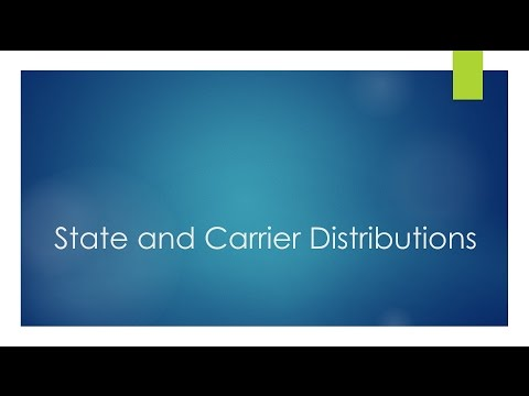 What Are Density of States, Fermi Function and Carrier Distributions?