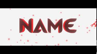 [ PZ ] 2.5D RED CLEAN INTRO TEMPLATE ( CLIPMAKER 3 )