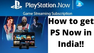How To Play Games From PS Now in India [HINDI]
