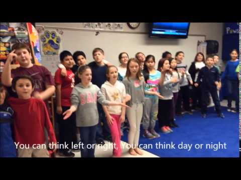 Creative Thinking Song by Sardis Search (gifted) students