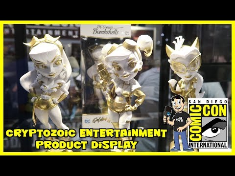 Cryptozoic Entertainment Product Display at San Diego Comic Con 2017