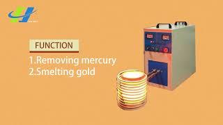 Gold smelting equipment mini electric melting furnace