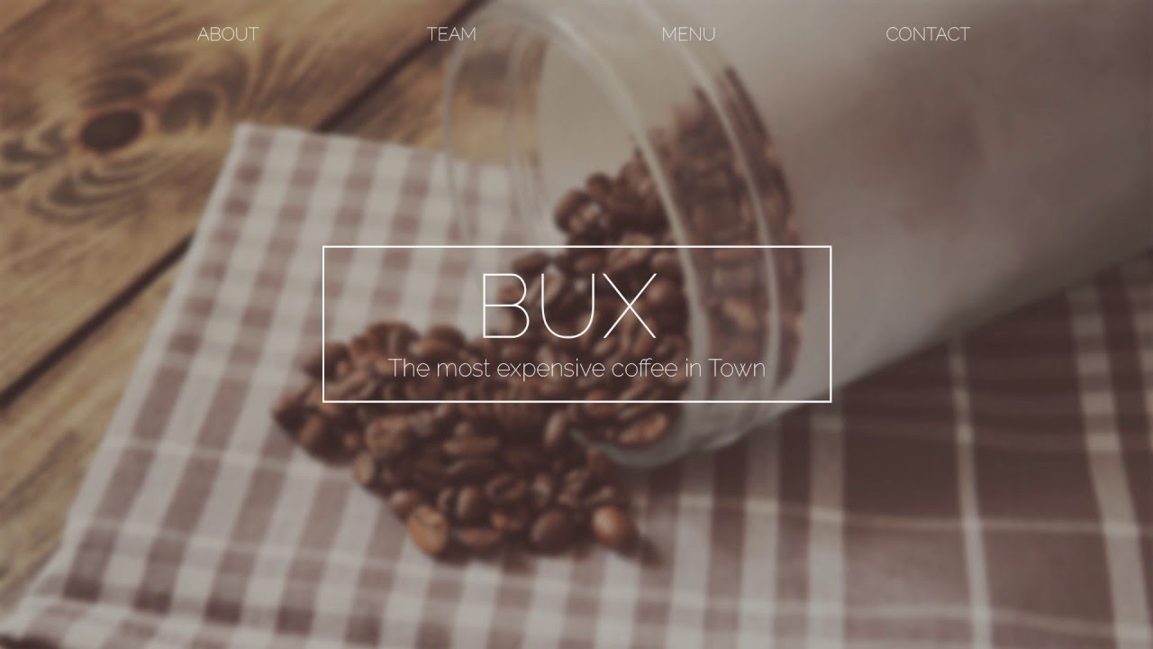 BUX | Photoshop Web Design (Speed Art)