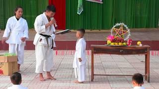 Hoạt động trung thu tại CLB Karate xã Đồng Hợp