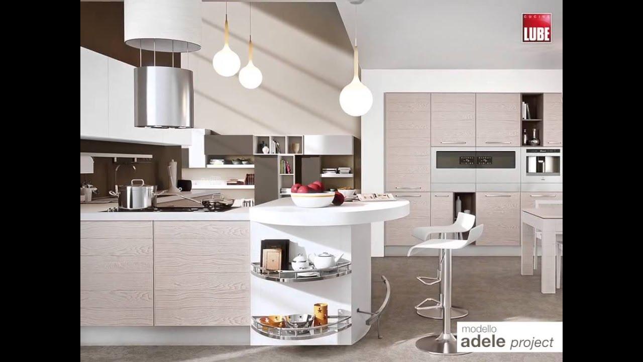 Kuhinje Lube - moderna kuhinja Adele - YouTube