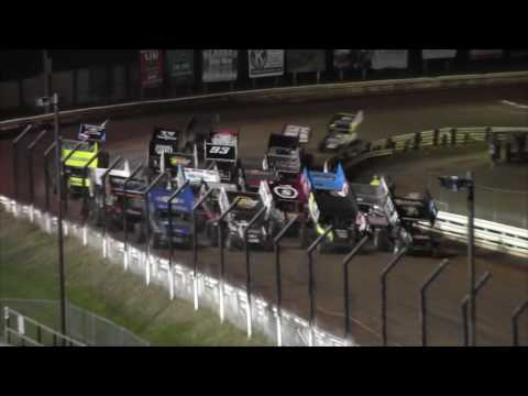 Williams Grove Speedway All Star and 305 Sprint Car Highlights 8-19-16