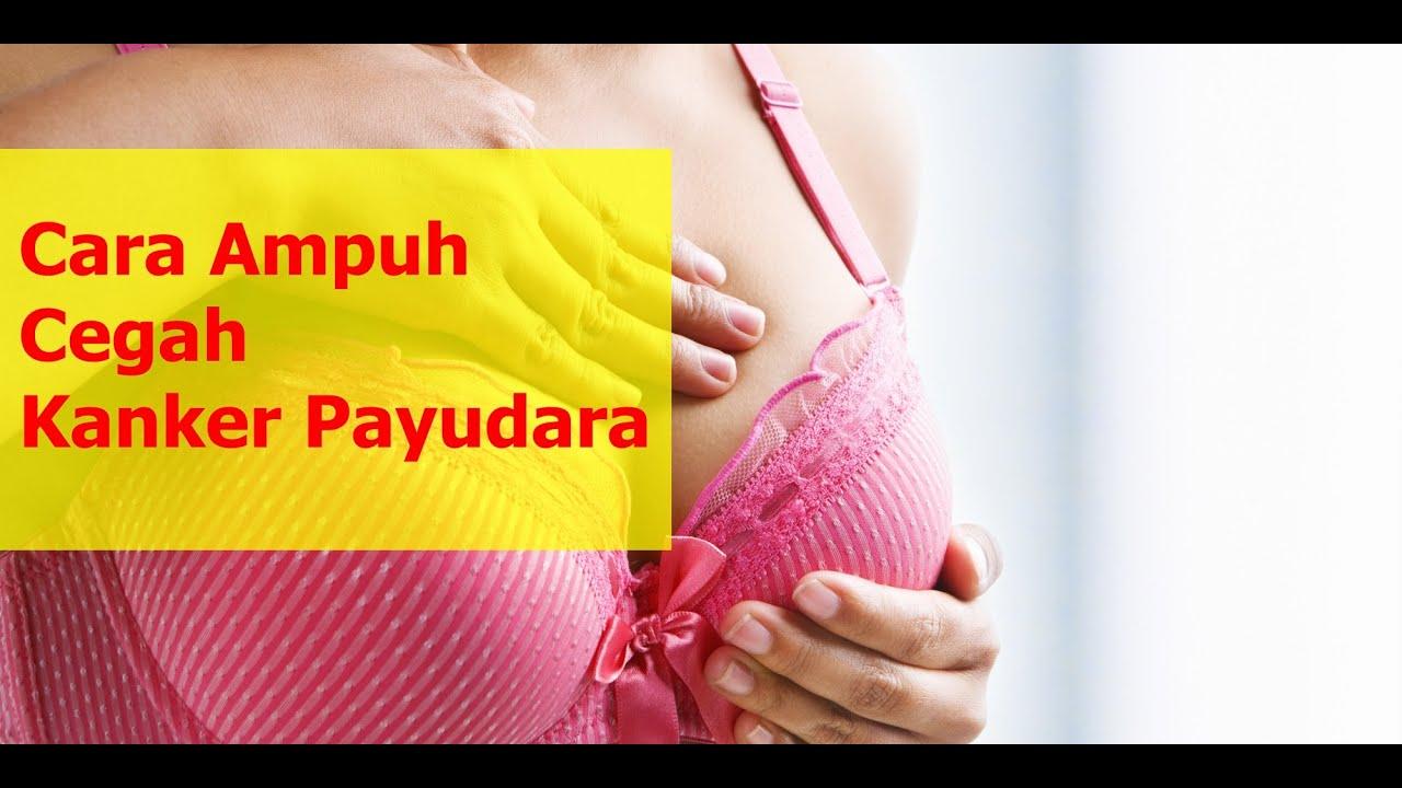Cara Ampuh CEGAH Kanker Payudara - YouTube