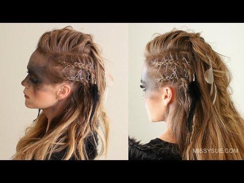 Viking Warrior Halloween Hairstyle | Missy Sue