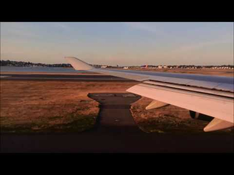 British Airways Takeoff from Boston Logan (BOS)