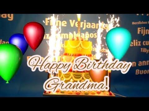 Best Happy Birthday Song For Grandma