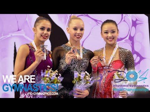 HIGHLIGHTS - 2014 Rhythmic Worlds, Izmir (TUR) - Hoop and Ball - We are Gymnastics!