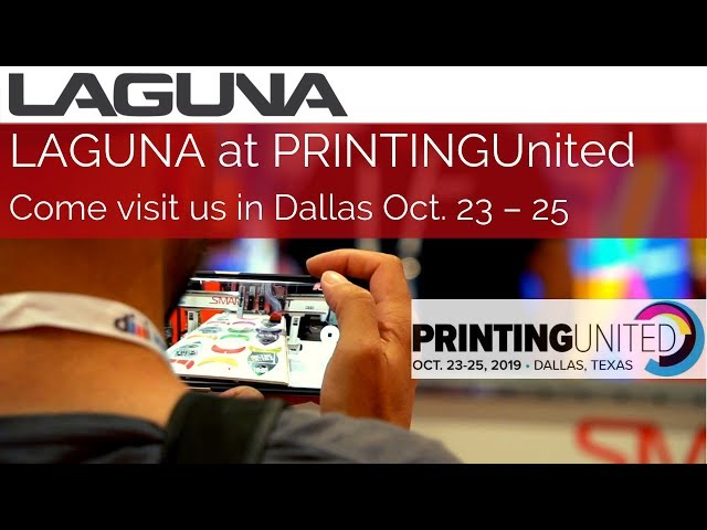 Come See LAGUNA CNC and Lasers at PRINTING United in Dallas! Get Hands-on CNC & Laser Experience