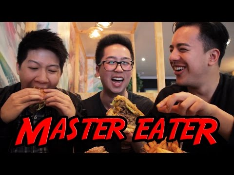 Burgers at Cultural Commons! - MASTER EATER (Ep. 1)