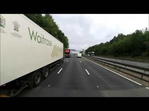 Z89 Travel : Road Trip Ocado Hatfield to Eddie Stobart Rugby Truck Stop