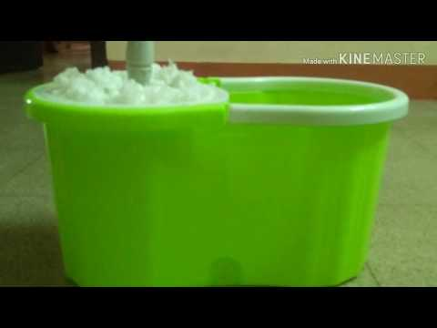 Moppers  / Spin Mop Demo In Telugu / Cheapest Floor Mop