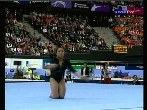 Vanessa Ferrari Ita Floor Finals Worlds 2010 Youtube