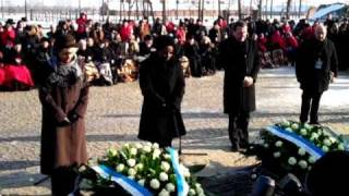 Irina Bokova visits Auschwitz-Birkenau