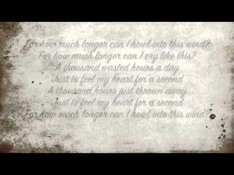 The Cure, A Thousand Hours; Lyrics