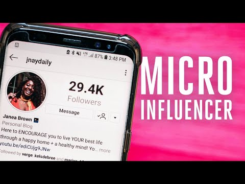 Making it as an Instagram influencer