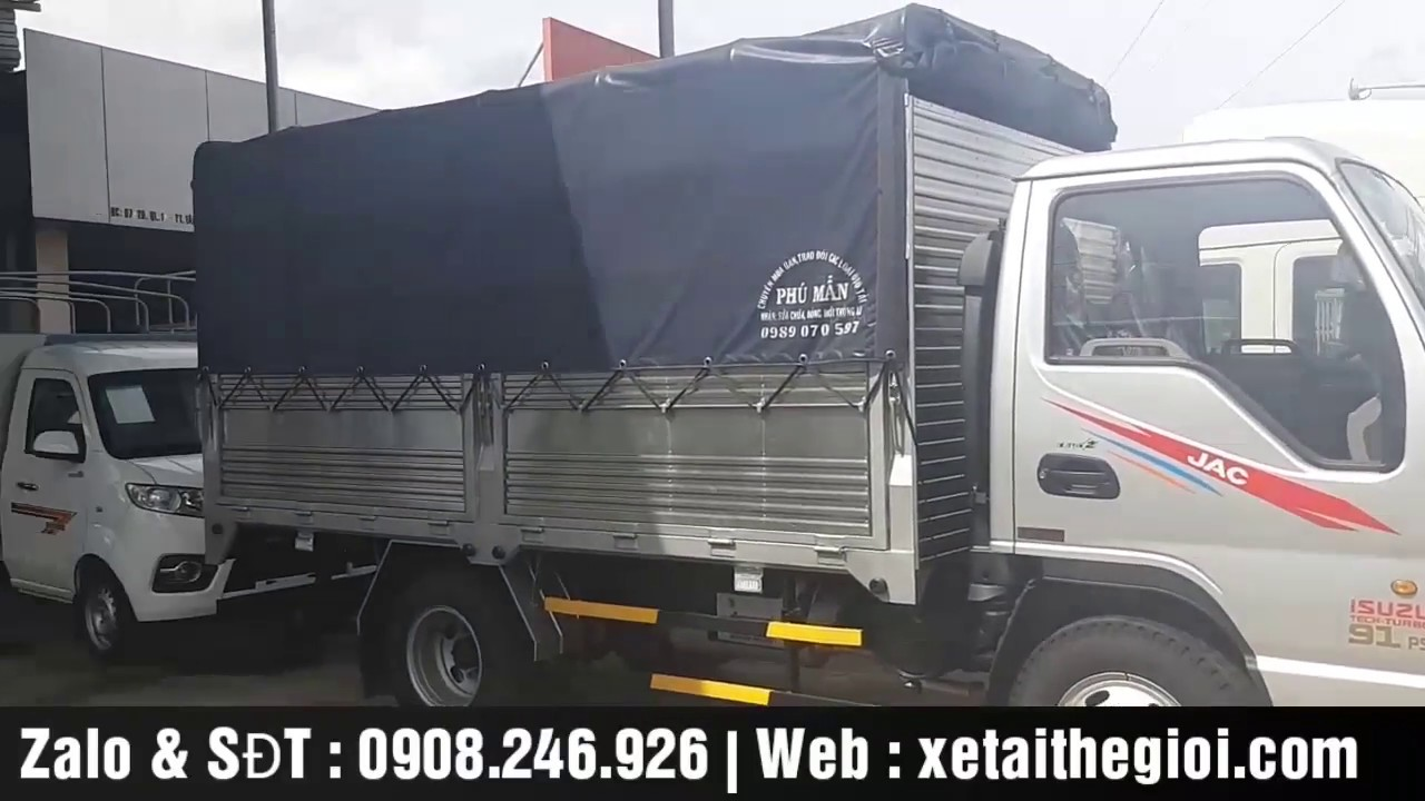 Xe Tải Jac 2T4 | Chi tiết chất lượng xe tải Jac 2.4 tấn 2T4