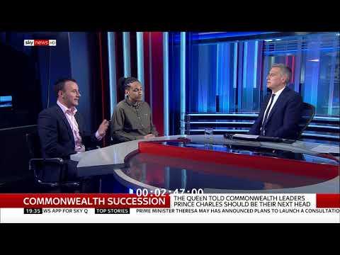 Sky News Debate: Dr Adam Elliott Cooper and Leon Ward debate the British Commonwealth
