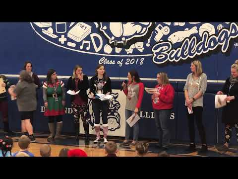 12 Days of Christmas at Durand Elementary School