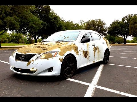 Get Red Mud Off White Car