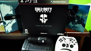 Call Of Duty Ghost | Prestige Edition PS3 | UNBOXING En Español Thumbnail