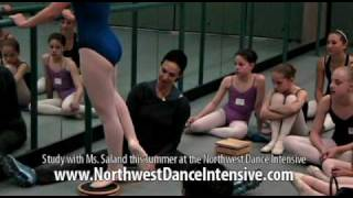 Stephanie Saland - The Backs Of Your Legs in Ballet Turns