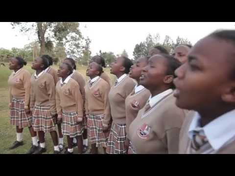 Kangubiri Girls High School in Nyeri with English Choral verse,
