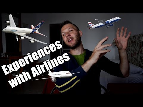 A world traveler reveals - EXPERIENCES WITH AIRLINES, FLIGHTS & AIRPORTS
