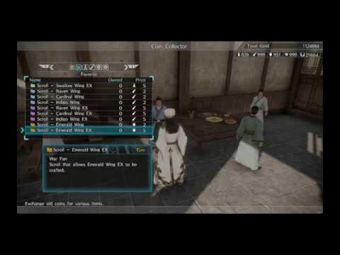 Dynasty Warriors 9 Crafting Zhuge Liang's Epic EX Weapon and Material Guide