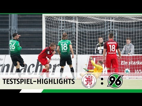 Testspiel-Highlights | KSV Hessen Kassel - Hannover 96