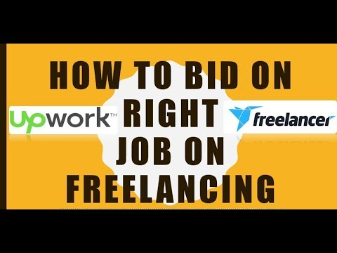 How To Bid on Right Job ? in Freelance and UpWork - Urdu/Hindi