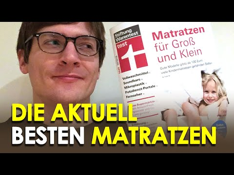 Stiftung Warentest: Matratzentest 2018