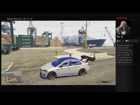 PS4 online GTA V illegal Job Lagerhaus