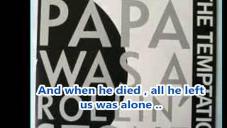 Papa Was a Rollin' Stone-The Temptations-Lyrics