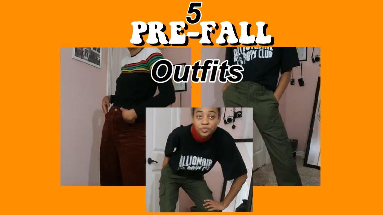 [VIDEO] - 5 Pre Fall Outfits    Sydney J 4