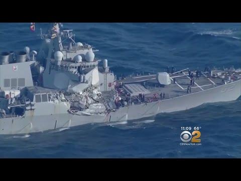 Navy Crew Members Hurt In Collision
