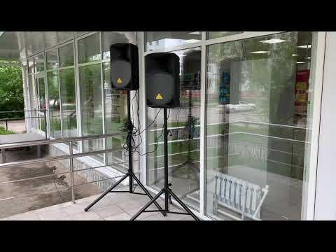 Звучание акустической системы Behringer B112D