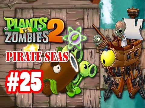 เกมส์พืชปะทะซอมบี้ 2 - ทะเลโจรสลัด - วันที่ 25 - Boss
