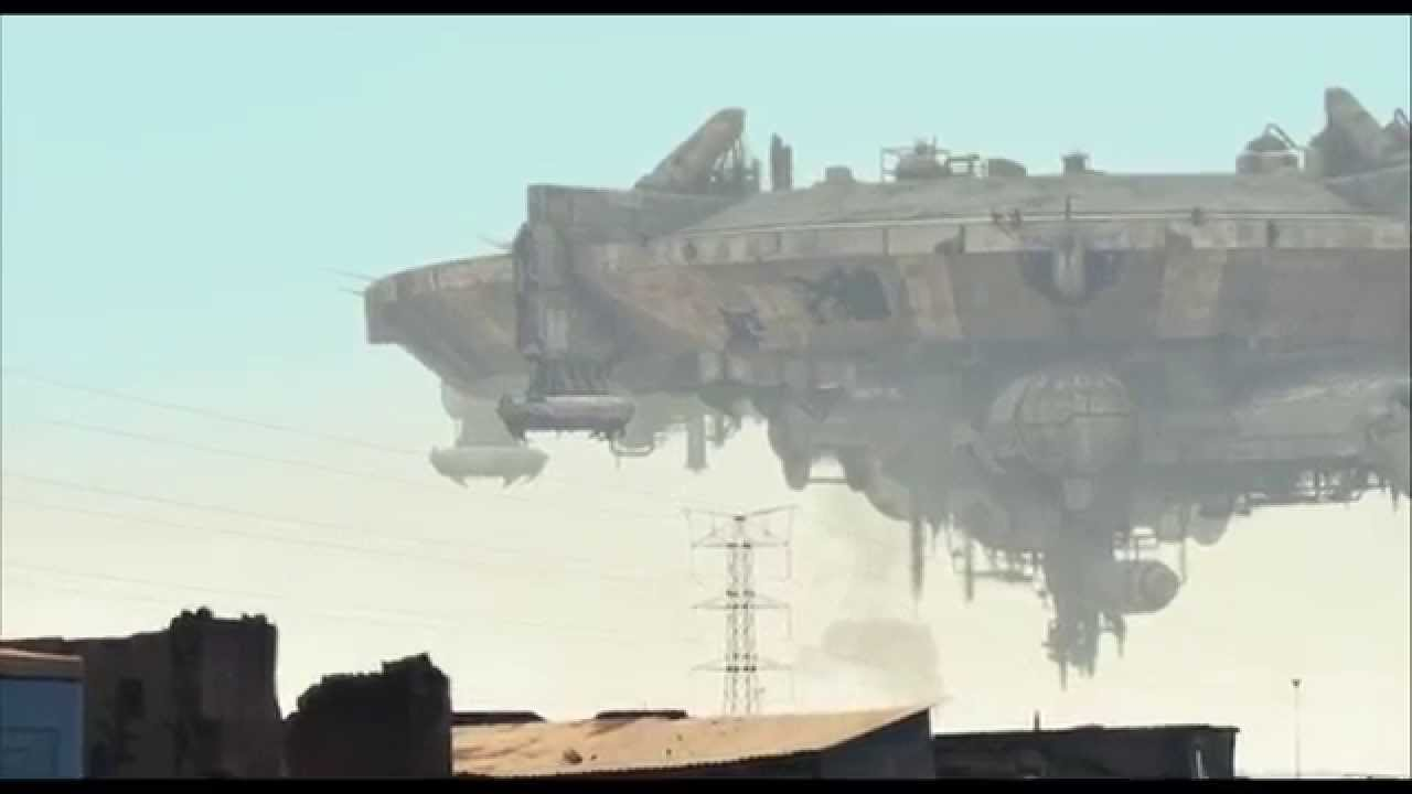 Early Mothership concepts - The Art of District 9 | Very ear… | Flickr