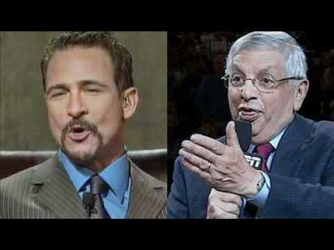 "NBA Commish David Stern to Jim Rome ""Do you still beat your wife?"""
