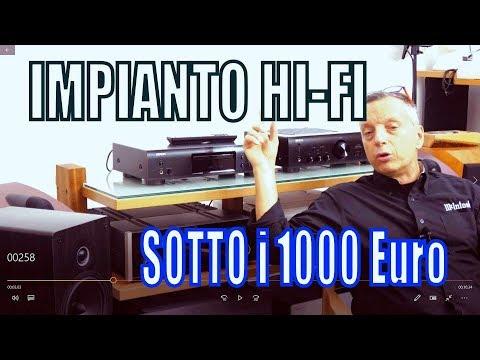 Impianto hi fi  sotto i 1000 € di Sbisa www audiocostruzioni com HD