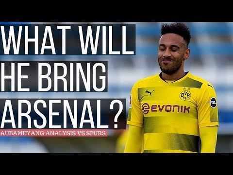 Pierre-Emerick Aubameyang Analysis VS Tottenham - How He Will Impact Arsenal