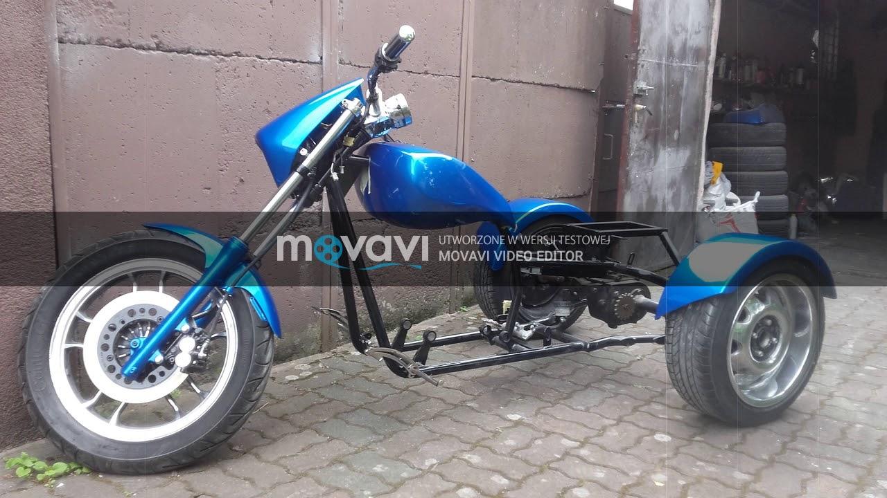 hight resolution of lifan custom v250 trike