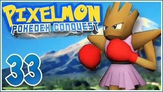 Minecraft Pixelmon PokéDex Conquest [Ep.33] - Takin