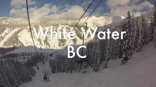 Snowboarding White water Resort British Columbia