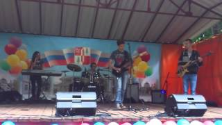 Фряново день города 2013 — Never Surrender [cover rock group] patr.2